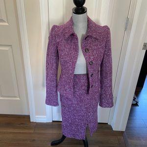 Esprit Vintage 90's Tweed Skirt Suit